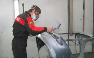 Инструкция как покрасить бампер своего автомобиля своими руками
