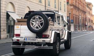 Супергелик Maybach G650 за 85 миллионов рублей