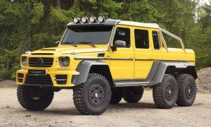 Гелендваген 6х6- Шесть колес за 70 миллионов рублей