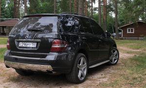 ML 350 Mercedes: Интерьер Экстерьер Двигатель Плюсы и Минусы