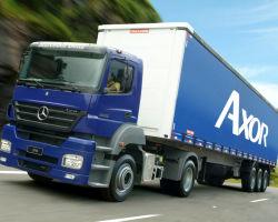 Обзор на Mercedes-Benz AXOR — Мало весит Много перевозит