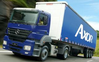 Обзор на Mercedes-Benz AXOR – Мало весит Много перевозит