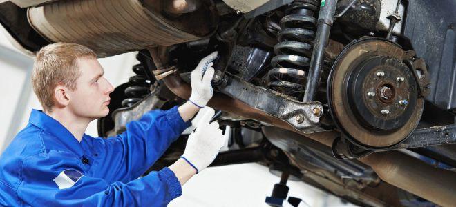 Что подразумевает ремонт подвески легковых транспортных средств