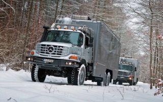 Автодом на колёсах Мерседес-Бенц Зетрос: Характеристики Двигатели