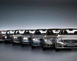Модельный ряд Mercedes: История марки Мерседес, Создание Логотипа Мерседес