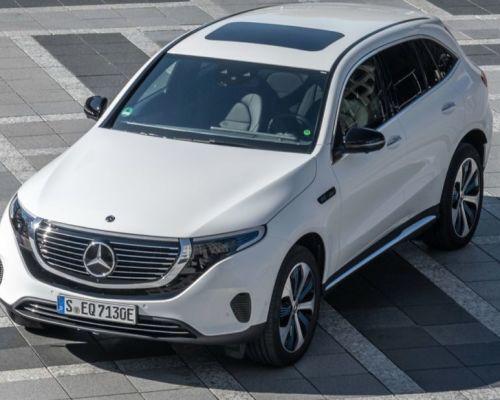 Mercedes EQC 400 4MATIC Круче E-Tron? : Интерьер Экстерьер Двигатель