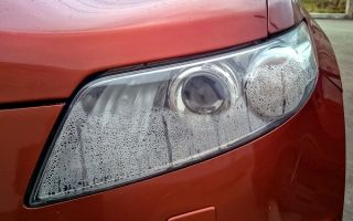 Способы устранения запотевания фар автомобиля