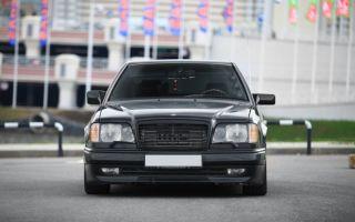 Мерседес Волчок 124 — авто за 150к-400к на каждый день. Драйверский интеллигент