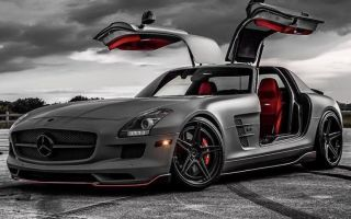 Настоящий СуперКар от Mercedes-benz — SLS AMG: Характеристики Двигатель Цена