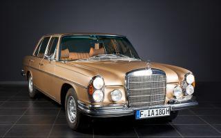 Обзор на Mercedes-Benz W108 Экстерьер Интерьер Двигатели Комплектации