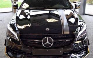 Сумасшедший Mercedes CLA 45 AMG: Интерьер Экстерьер Двигатель Плюсы и Минусы