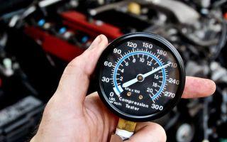 Как измерить компрессию в двигателе при помощи компрессометра