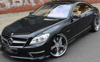 Mercedes-Benz CL-Class Равных на светофоре нет