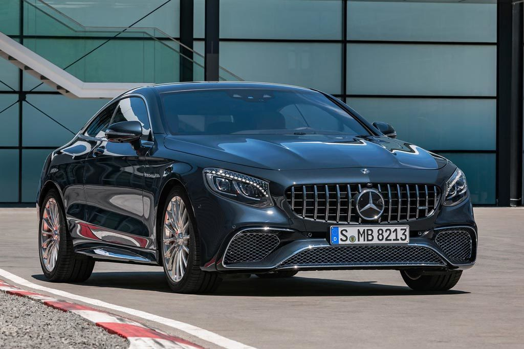 Mercedes s coupe 2018 black