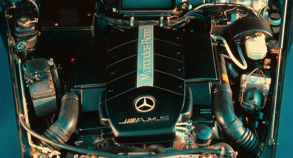мотор гелендваген 55