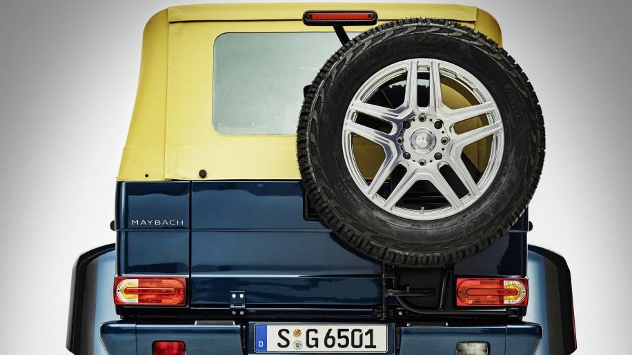 Ландулет запасное колесо