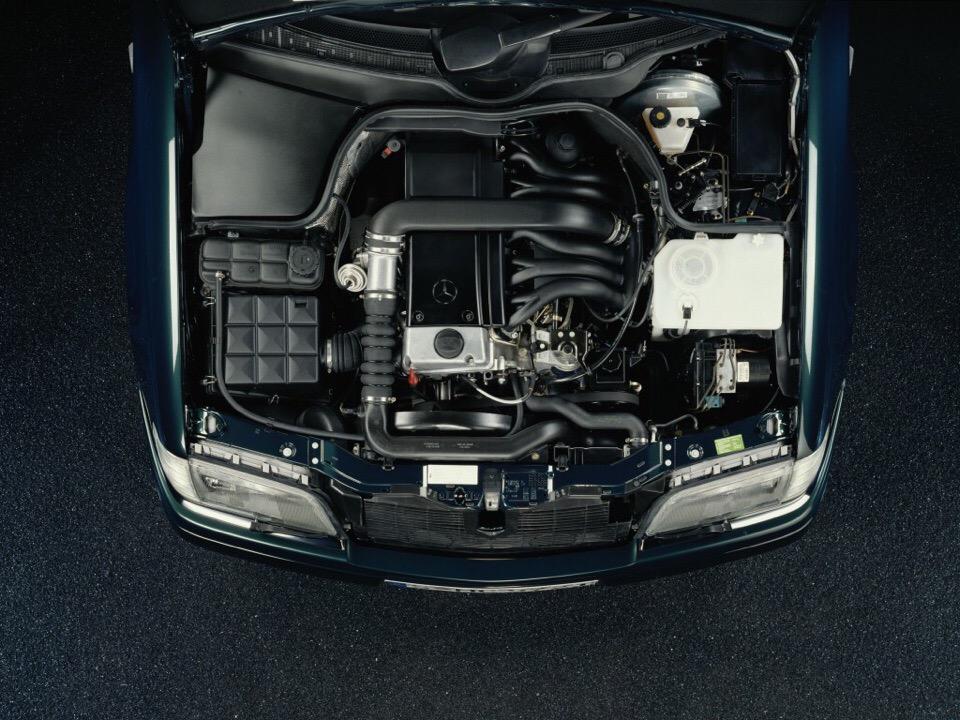 двигатель w202