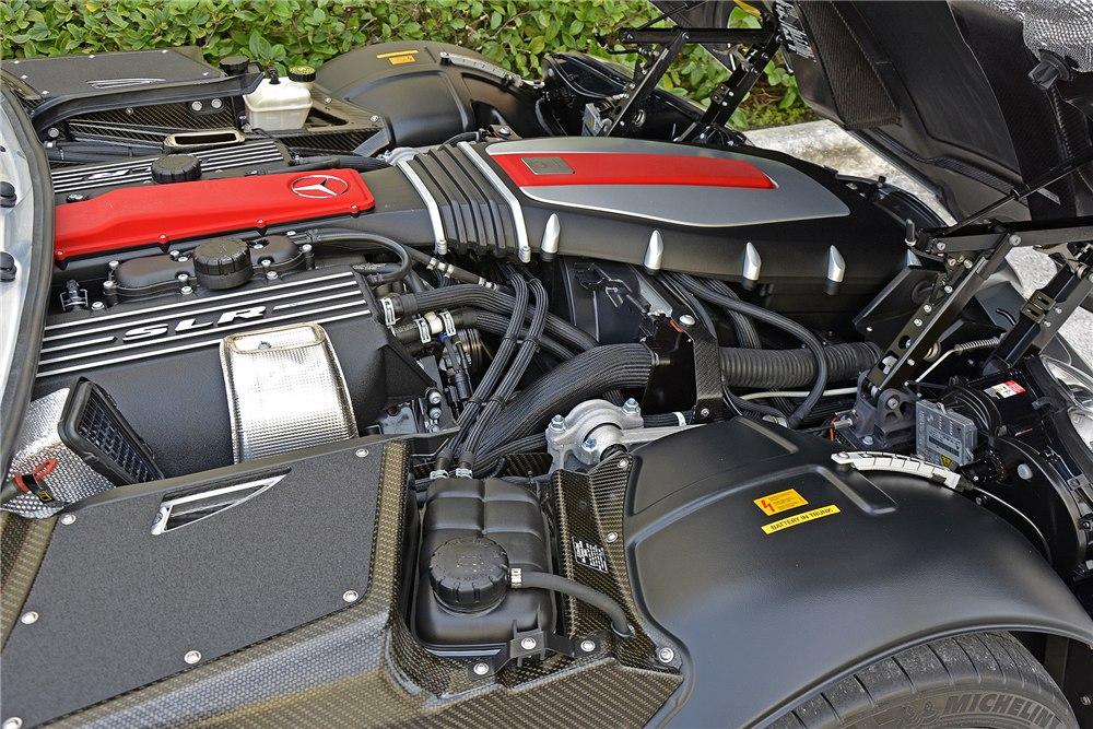 Двигатель SLR MClaren
