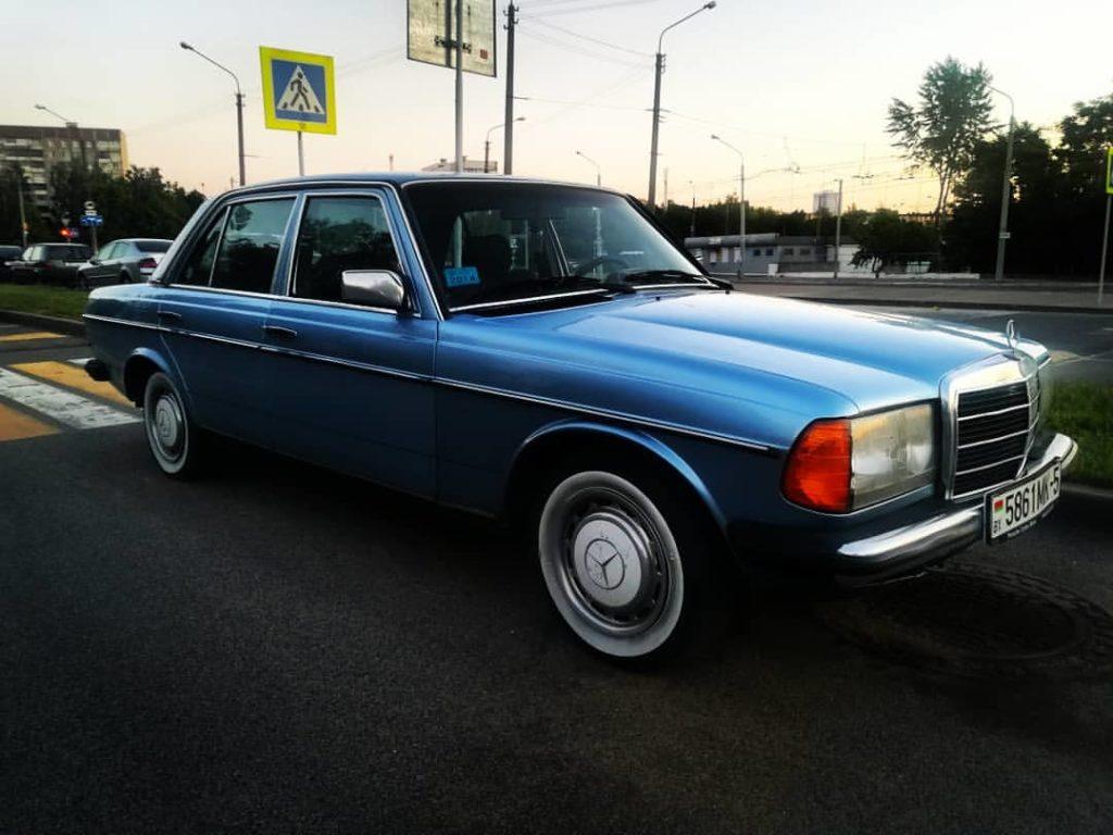 w123 голубой