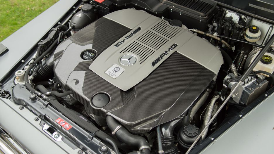 фотография двигателя gelednwagen 65