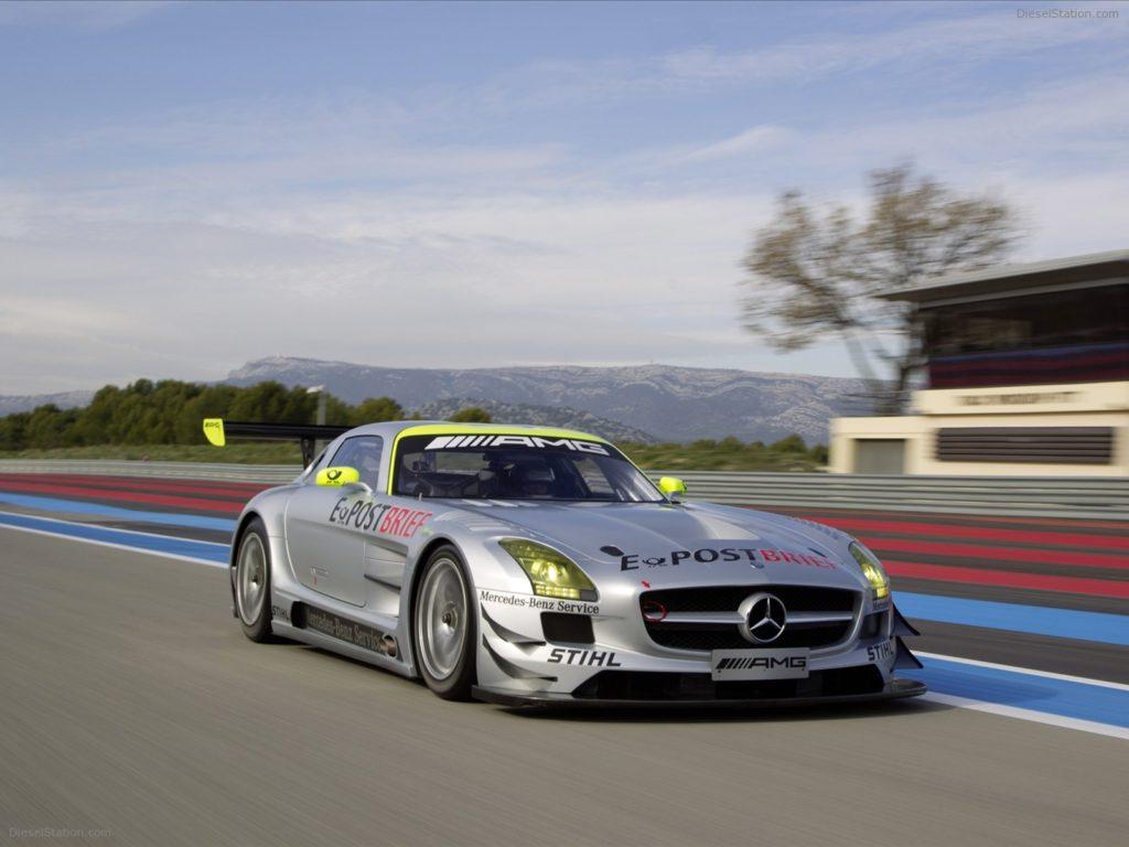 SLS AMG GT3 фото