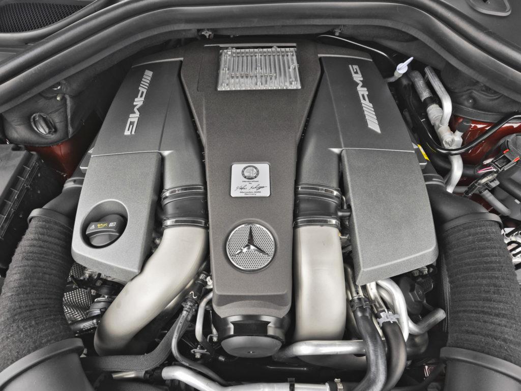 двигатель GL 63 amg