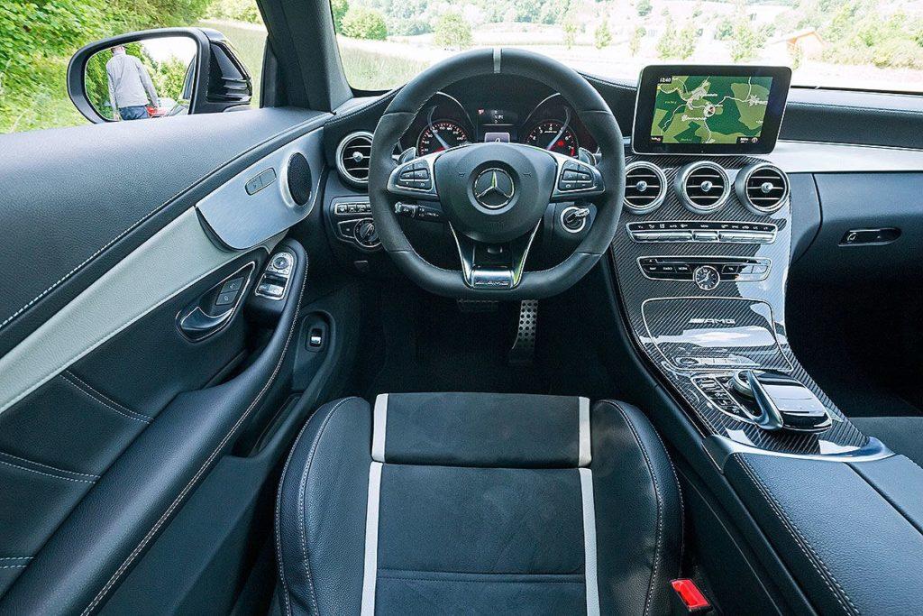 АМГ С63 S купе фотография