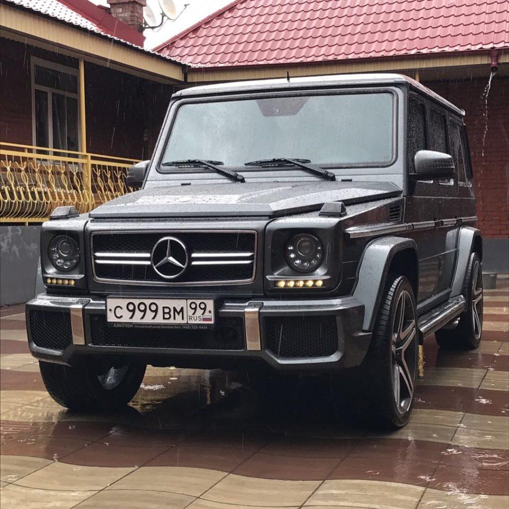 black G63