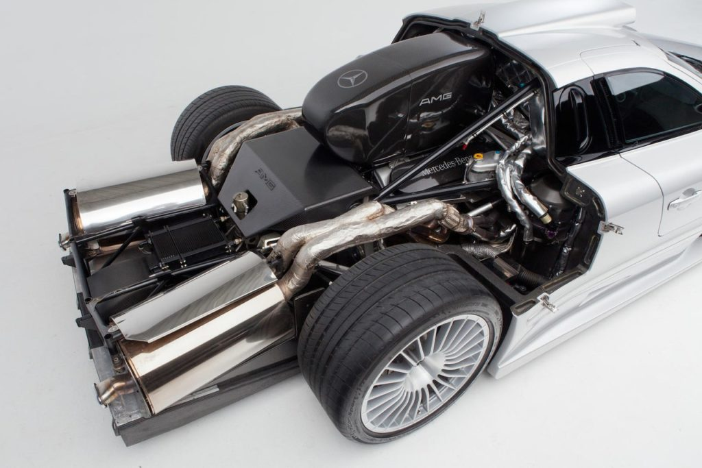 Двигатель Мерседес-АМГ ГТР СЛК