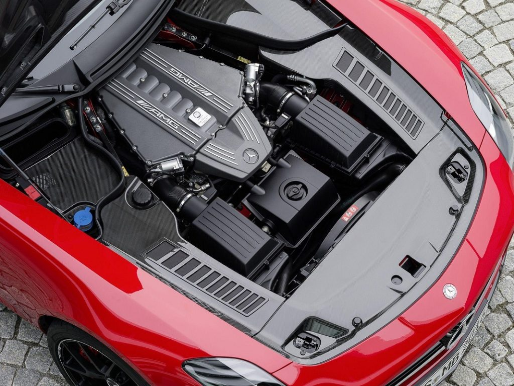 двигатель СЛС АМГ фото