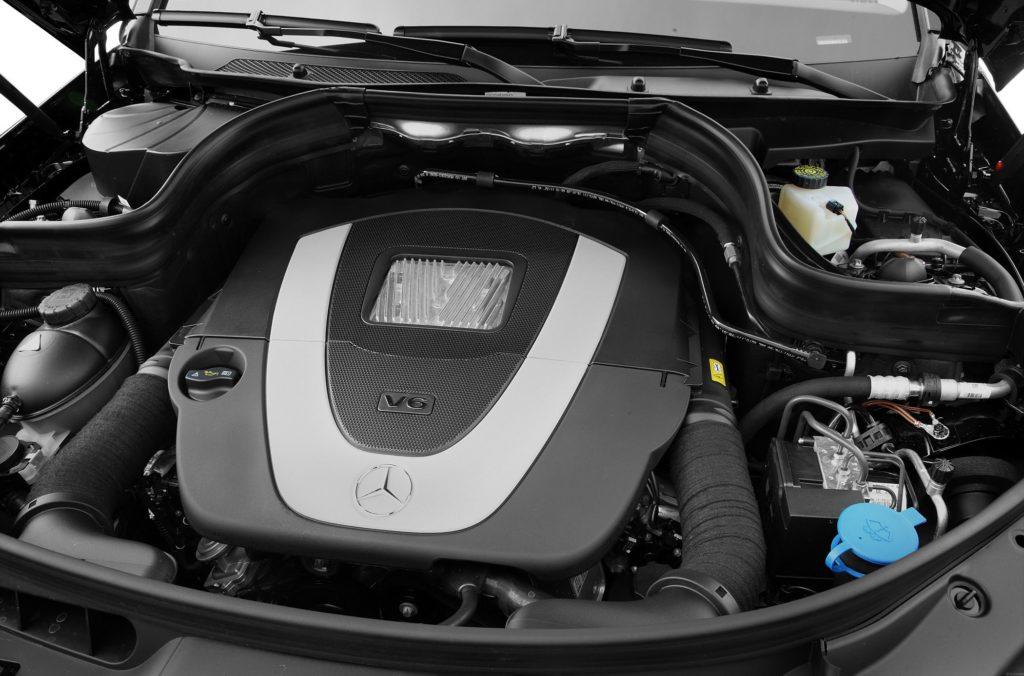 Двигатель ГЛК-класс 350 фото