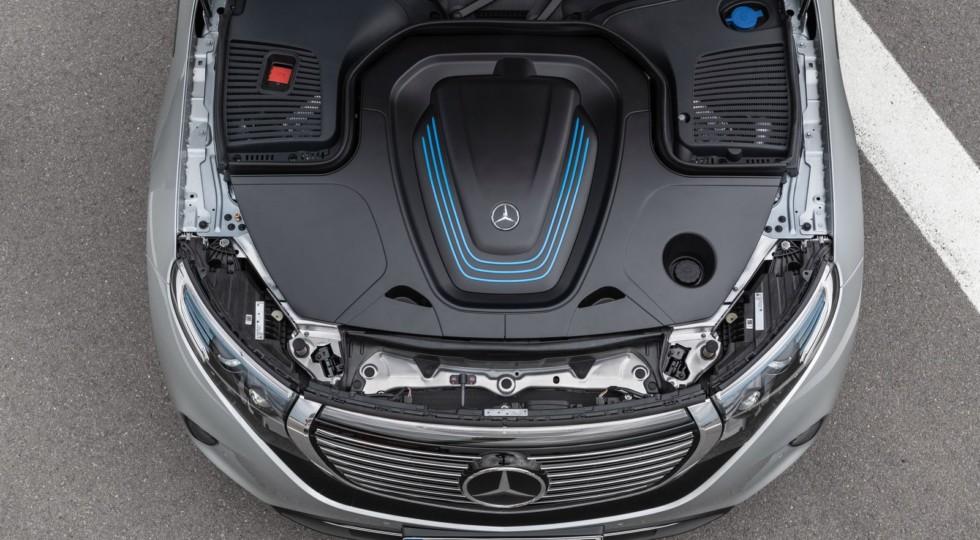 Двигатель МБ электромобиля EQC 400 4matic фото