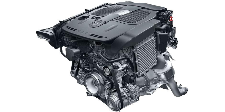 МБ GLK-Class 300 4MATIK Двигатель