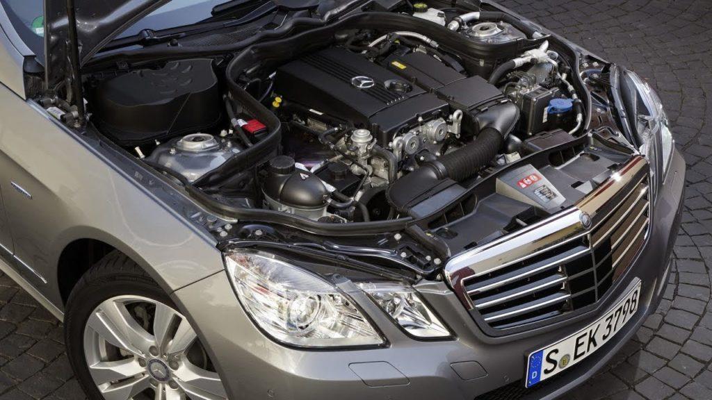 E-class 2012 фото двигатель