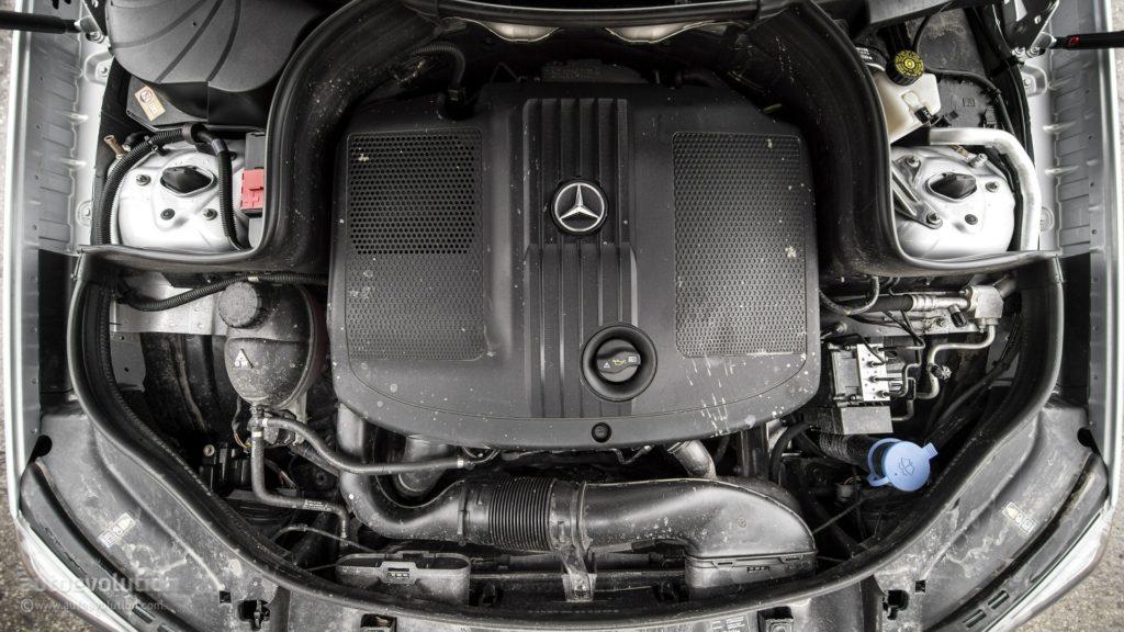 Двигатель Mercedes-Benz GLK 220