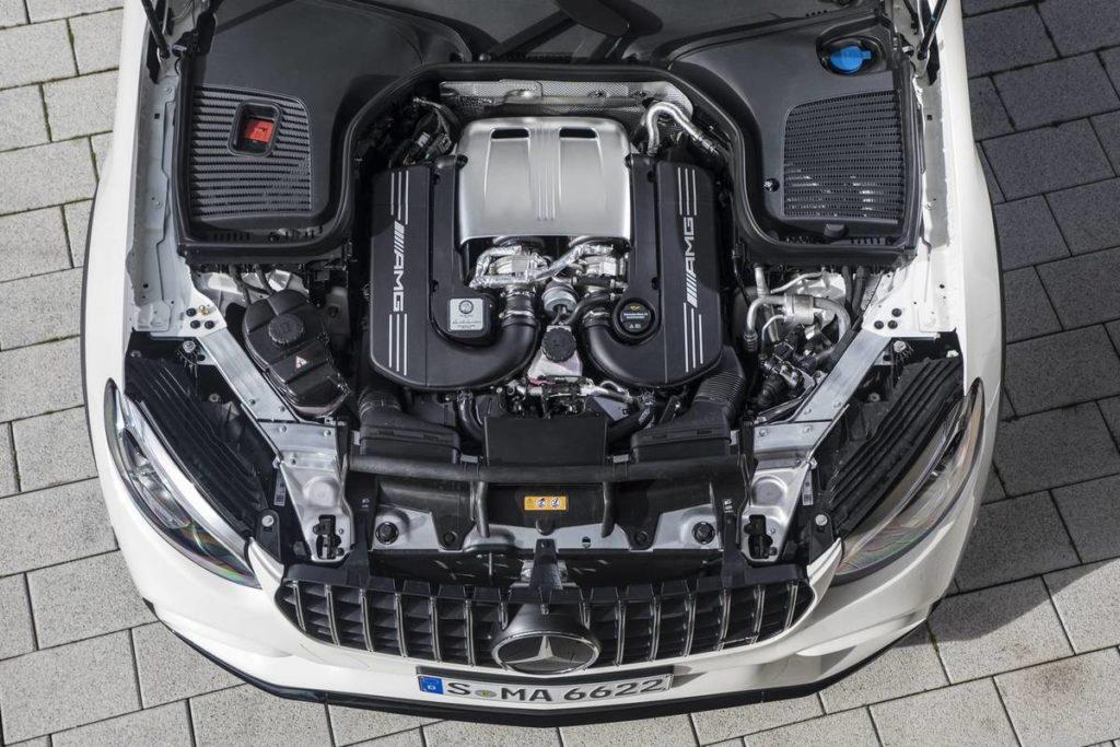 Двигатель Мерседес-АМГ ГЛК-КЛАСС 2018