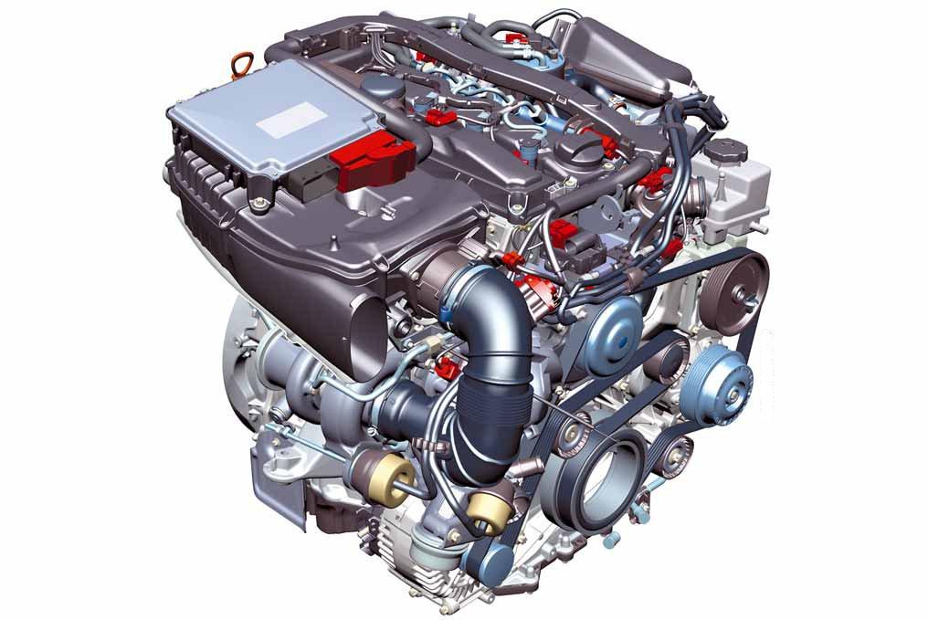 ОМ651 двигатель фото