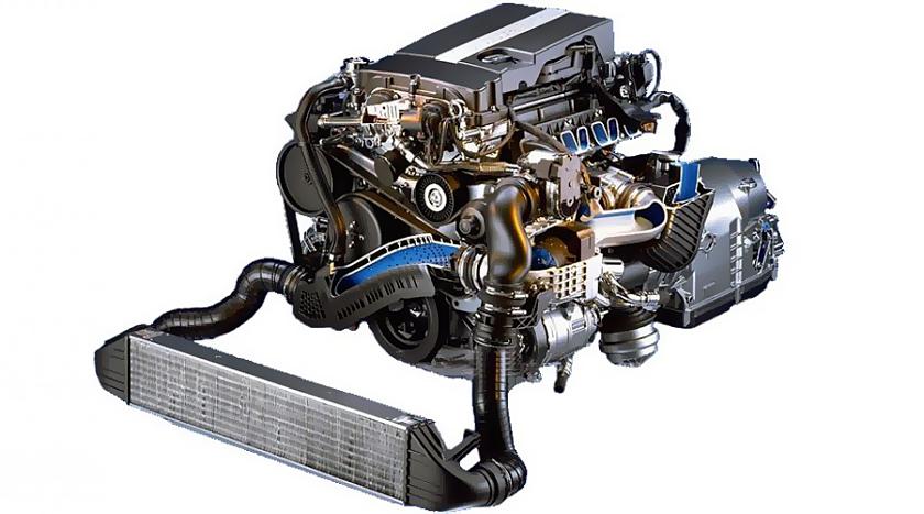 двигатель м271 фото