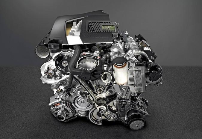 двигатель М272 фото