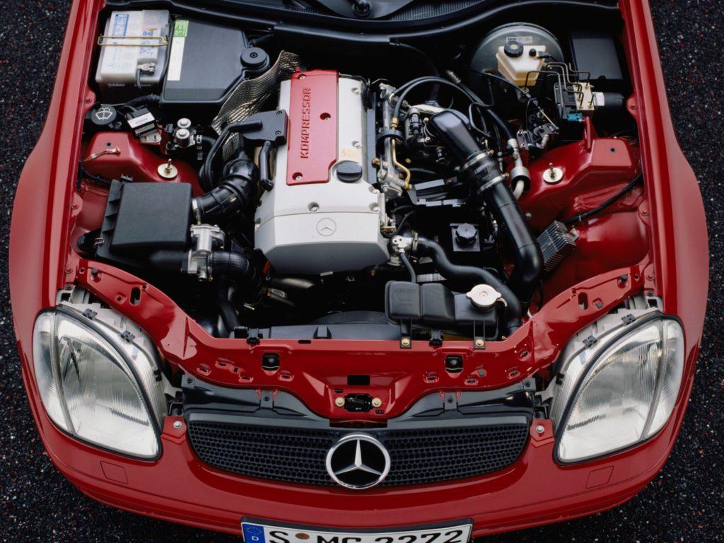 Двигатель MB СЛК 200 promercedes.ru