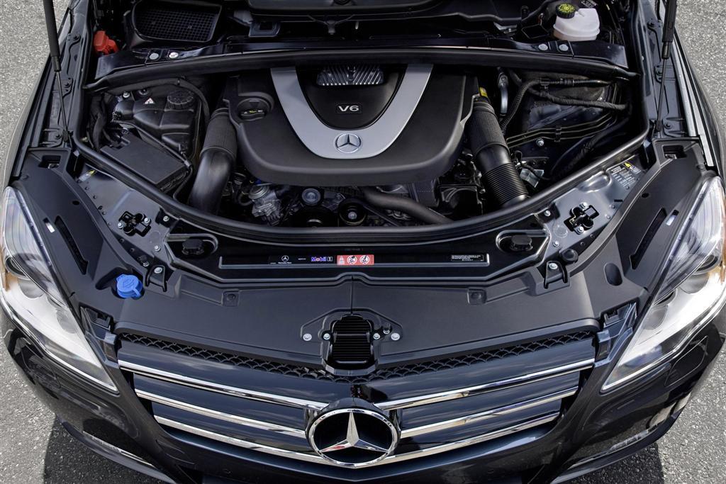 Двигатель Mercedes R class