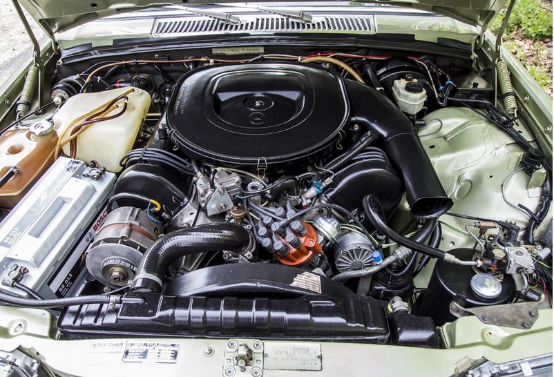 Двигатель w116 promercedes