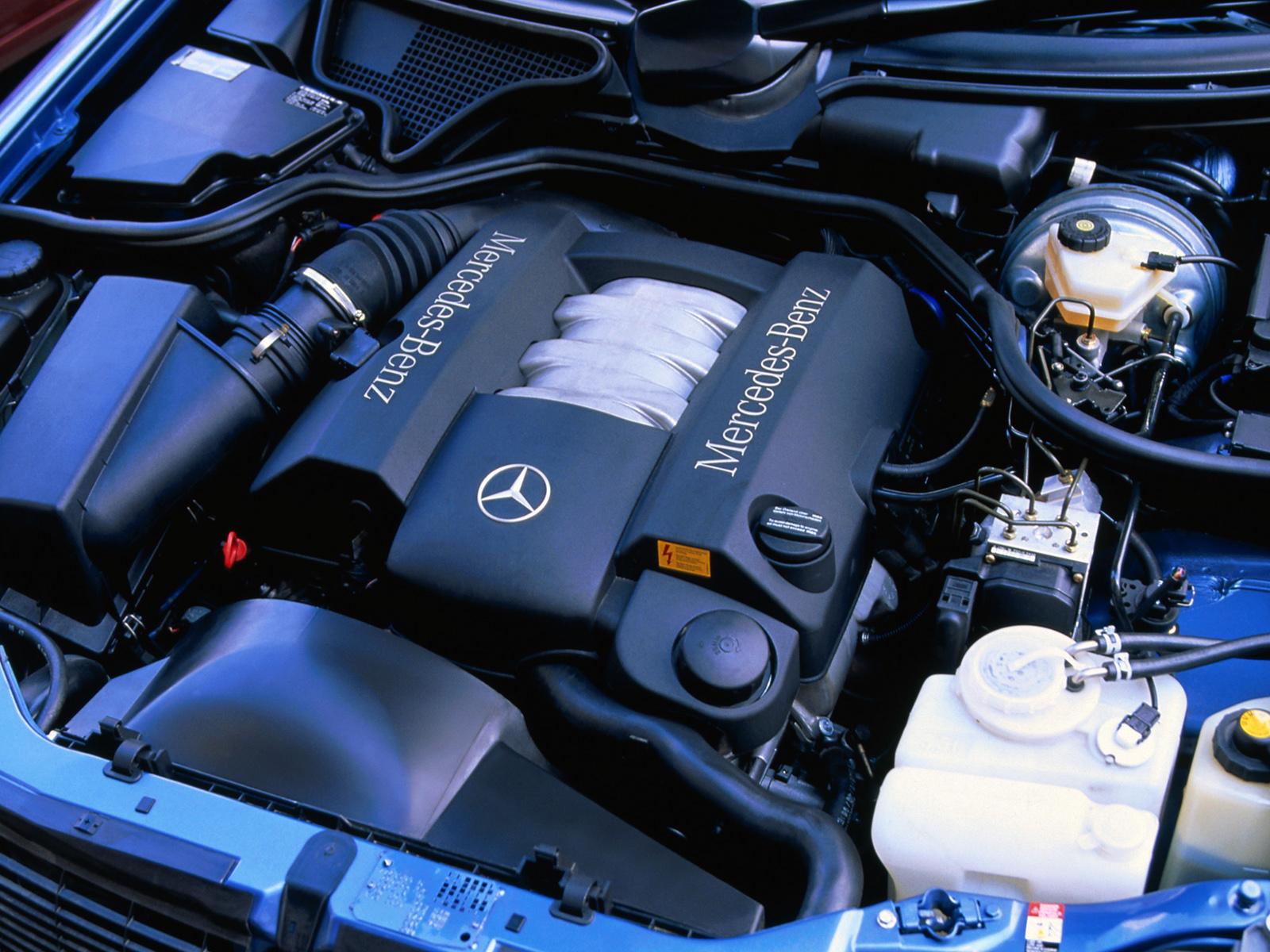 Мерседес E240 двигатель