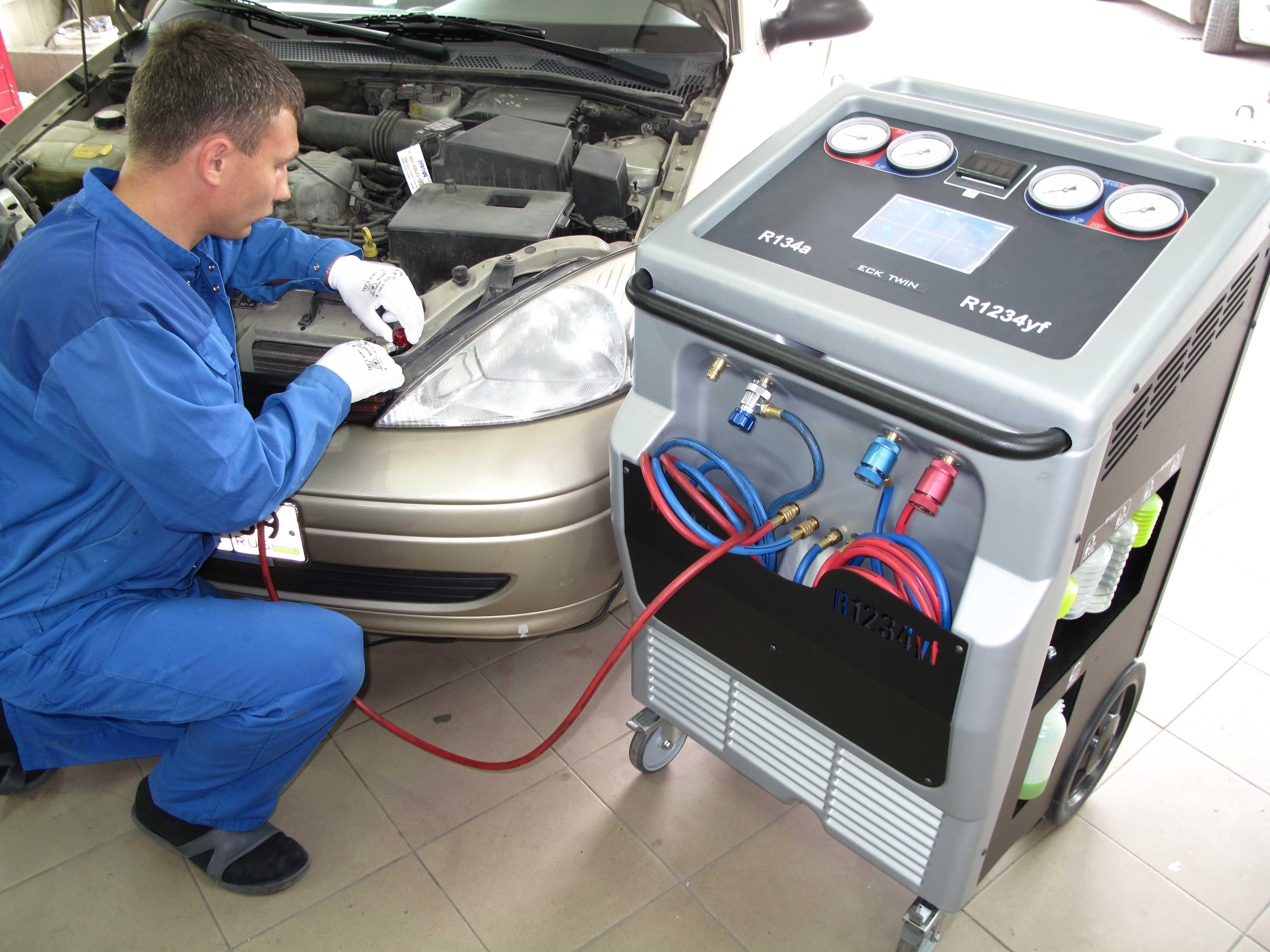 диагностика компрессора автомобильного кондиционера