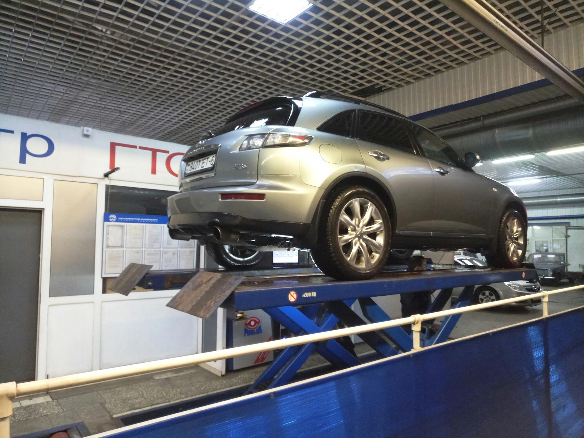 Вибростенд для ходовой части автомобиля
