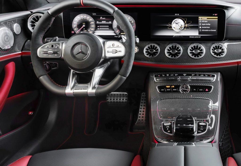 Салон Mercedes E53