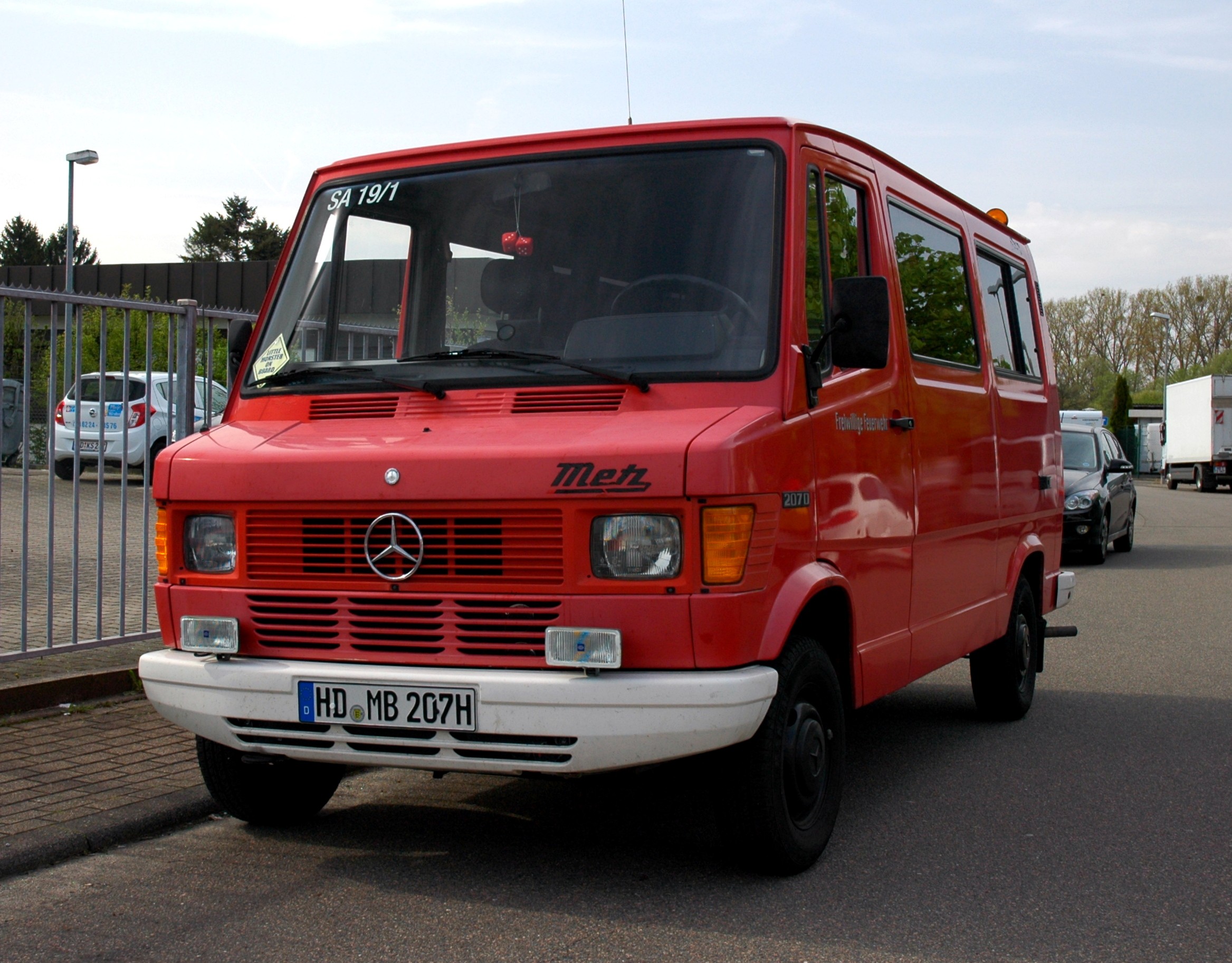 Mercedes T1 двигатель