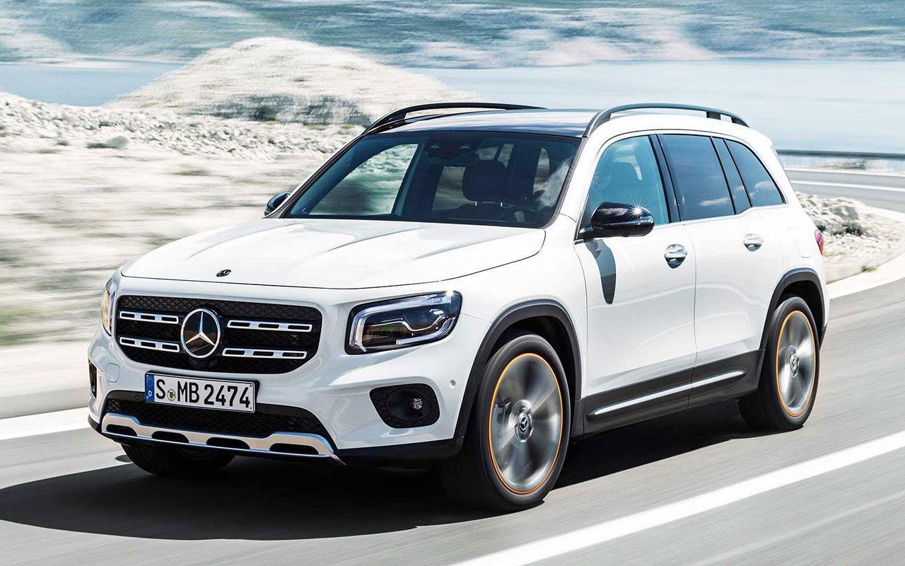 GLB Mercedes 2019 Интерьер Экстерьер Характеристики Цена