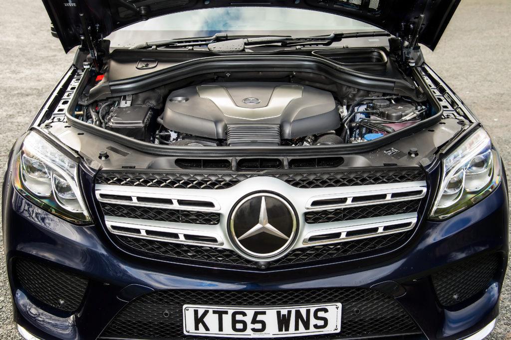 gls 2015 двигатель