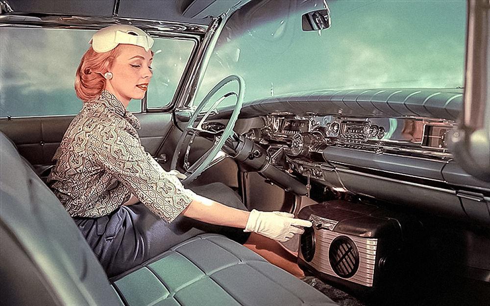 Первый образец автомобильного кондиционера